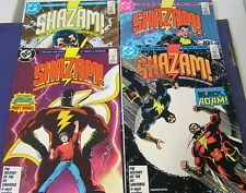 Shazam: The New Beginning #1,2,3,4 (DC 1987) complete series; FN+