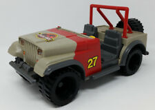 Jurassic Park Series 1 Bush Devil Tracker Jeep Vehicle Car Vintage 1993 Kenner