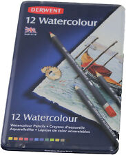 Derwent 12  Aquarellstifte Metallbox                881