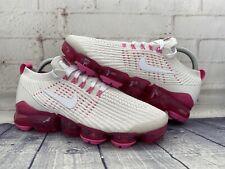 Nike Womens Air Vapormax Flyknit 3 Shoes Pink White AJ6910-005 Women's Size 6.5