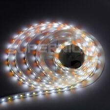 5M 5050 300 LED RGBW RGB + Warm/Cool White Light Strip Silicone IP67 Waterproof