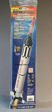 ESTES MERCURY REDSTONE ROCKET skill 3 NASA U.S.A. Model Rocketry project EST1921
