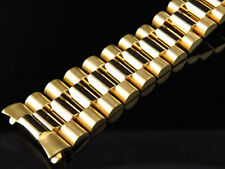 Mens President Watch Band for Rolex Day-Date in 18k Yellow Gold 20 MM 66 Grams