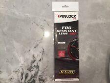Pinlock 120 Fog Resistant Lens Clear For KLIM