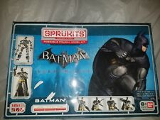 NIB Sprukits Batman Arkham City Poseable Figural Model Kit Level 3 (2014 BANDAI)