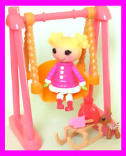 Lalaloopsy Mini Holly Sleighbells Christmas Coat Doll COMPLETE w extra accessory