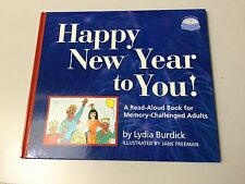 MEMORY-CHALLENGED ADULTS:  HAPPY NEW YEAR TO YOU, A READ-ALOUD BOOK  ***NEW***
