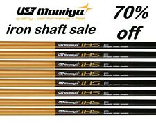 9 New UST Mamiya REGULAR FLEX Graphite Lite Weight Cobra Iron Shafts .370 41""