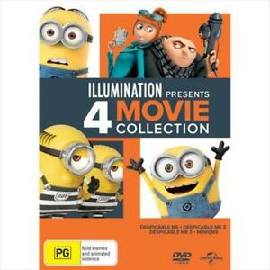 Despicable Me 4 Pack DVD