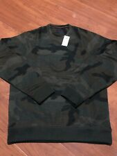 Abercrombie & Fitch Camo Sweat Shirt 122-231-0643-336 Men US SZ M NEW