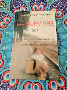 Spécial Survivre 2023 livre neuf 105 pages