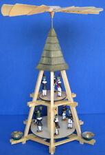 Göpelpyramide 51cm 2-Stock Werner Seiffen Göpel-Pyramide Erzgebirge Göbel Neu