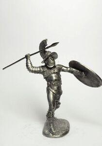 Tin soldier, figure. Roman gladiator Laequarius 54 mm