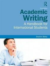 Academic Writing: A Handbook for International Students, Bailey, Stephen, Used;