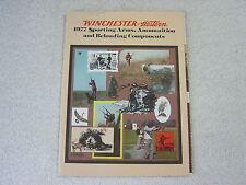 Winchester Rifle And Shotgun 1977 Mini Gun Catalog