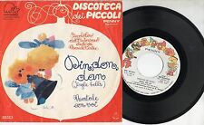 PICCOLO CORO ANTONIANO MARIELE VENTRE disco 45 giri MADE in ITALY Din don dan