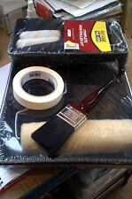 job lot home diy paint brush and roller decorating kit