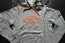 Umbro Sudadera Hombre Gris Naranja o azul Tamaño S, M o L nuevo con etiqueta