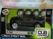 1/32 DUB GARAGE FORD F-150 CUSTOM RIDES WIDE BODY DIE CAST METAL BRAND NEW RARE