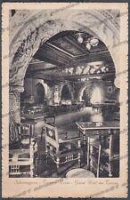 PARMA SALSOMAGGIORE TERME 140 INTERNO HOTEL ALBERGO Cartolina viaggiata 1931