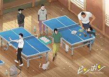 Ping Pong TV Anime Complete Art Works Concept Art Book / Taiyo Matsumoto