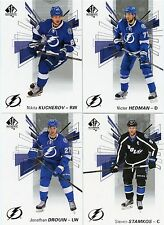 16/17 SP AUTHENTIC TEAM SET - TAMPA BAY LIGHTNING