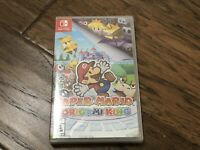 Paper Mario: The Origami King (Nintendo Switch, 2020) BRAND NEW