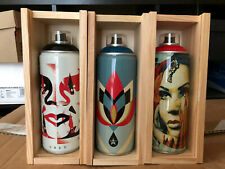 Obey Giant Shepard Fairey X Montana Spray Can Paint Set Beyond The Street SET