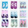 3D Printed Unicorns Ankle Socks Low Cut Casual Fashion Men Women Boat Socks New