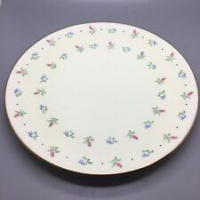 WEDGWOOD CAKE / SERVING PLATE 24.5CM IN A FLORAL PATTERN No.5123