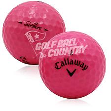 24 MINT Callaway Solaire Pink AAAAA Used Golf Balls