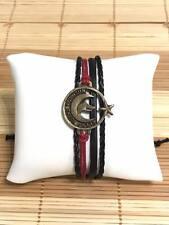 Göktürk Kayi Oguzhan Leder Armband Handarbeit Bileklik Ay Yildiz