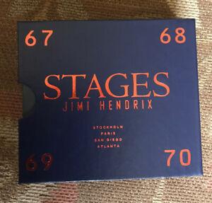 Jimi Hendrix Stages CD Box set Mint 4 Discs