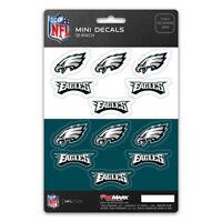 New NFL Philadelphia Eagles Die-Cut Premium Vinyl Mini Decal / Sticker Pack