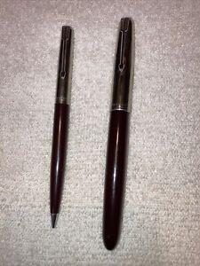 vtg parker arrow 51 special fountain pen and pencil See Description.