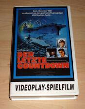 VHS - Der letzte Countdown - Kirk Douglas - Martin Sheen - Videokassette