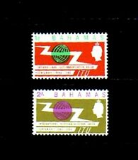 BAHAMAS - 1965 - QE II - ITU - TELECOMMUNICATIONS - MINT - MNH SET!