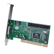 3 Port SATA +1 IDE PCI Controller RAID Card Adapter w/SATA cable - UK