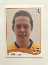 Panini Frauen WM 2011 Seltener Sticker Nr.239Lina NilssonMint!!