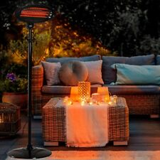 More details for neo 2kw electric quartz outdoor standing waterproof garden patio heater heating