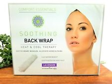 Comfort Essentials Soothing Back Wrap Heat Cool Therapy Lavender Aromatherapy