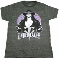 New WWE The Undertaker Bats Vintage Legends WWF Men's Graphic Licensed T-Shirt