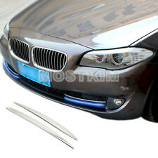 Exterior Front Bumper Grille Fog Light Cover Trim For BMW 5 Series F10 2011-2013