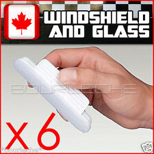 6 PACK AQUAPEL WINDOW WINDSHIELD GLASS TREATMENT RAIN WATER REPELLENT REPELS 6PK