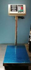 BILANCIA ELETTRONICA COMMERCIALE PROFESSIONALE 300 KG DISPLAY DIGITALE CON ASTA