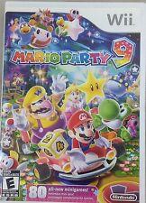 Mario Party 9 (Nintendo Wii, 2012) (4426-SM72)