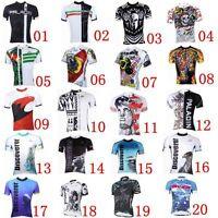 2016 Mens Cycling Jersey Tee T-shirt Shirt Riding Top Road Bike Team Sports Wear