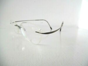 Silhouette Titan Copper/Brown Rimless Eye Glasses M 6460 /45 V 6055 48 20 140
