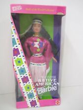 """NATIVE AMERICAN"" Barbie - Dolls of the World Collection - Third Edition"