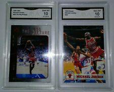 New listing ($300) Michael Jordan 1997 UD3 Big Picture Insert + 93 Hoops Gem Mint 10 Lot +